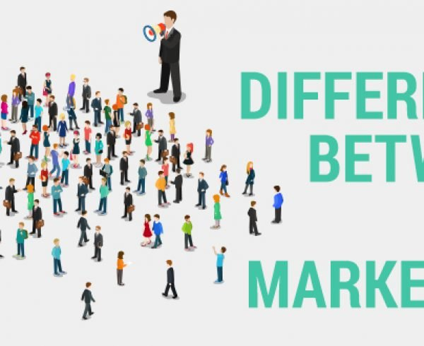 difference between public relations and marketing