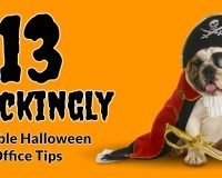 13 shockingly sensible halloween office tips