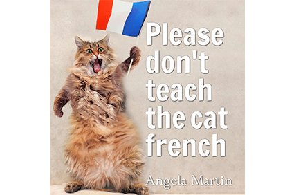 please don't teach the cat french. angela martin the office
