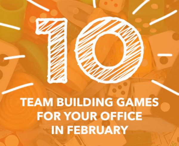 10 Team Building Games for Your Office in February