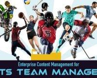 Enterprise Content Management for Sports Team Management