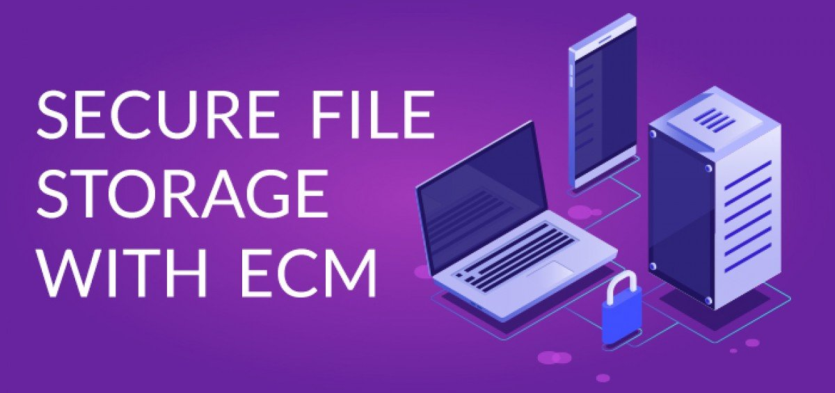 Secure File Storage with ECM
