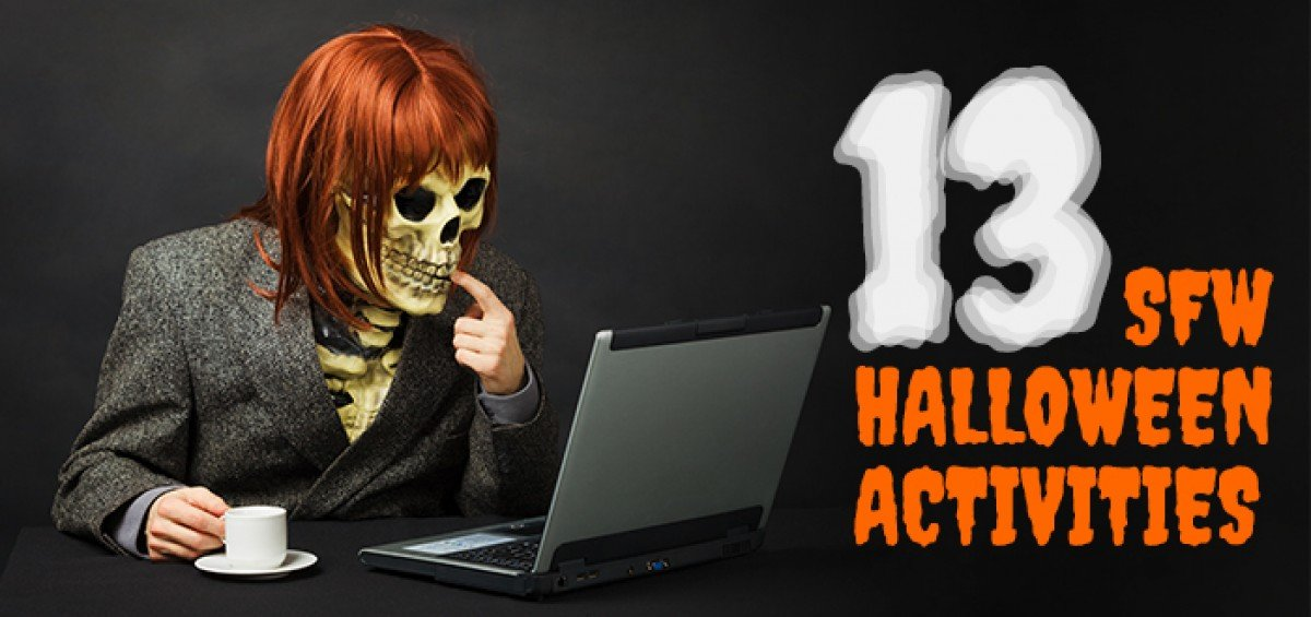 13 Safe-For-Work Halloween Activities