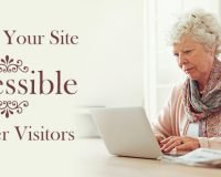 Making Your Website Accessible to Older Visitors