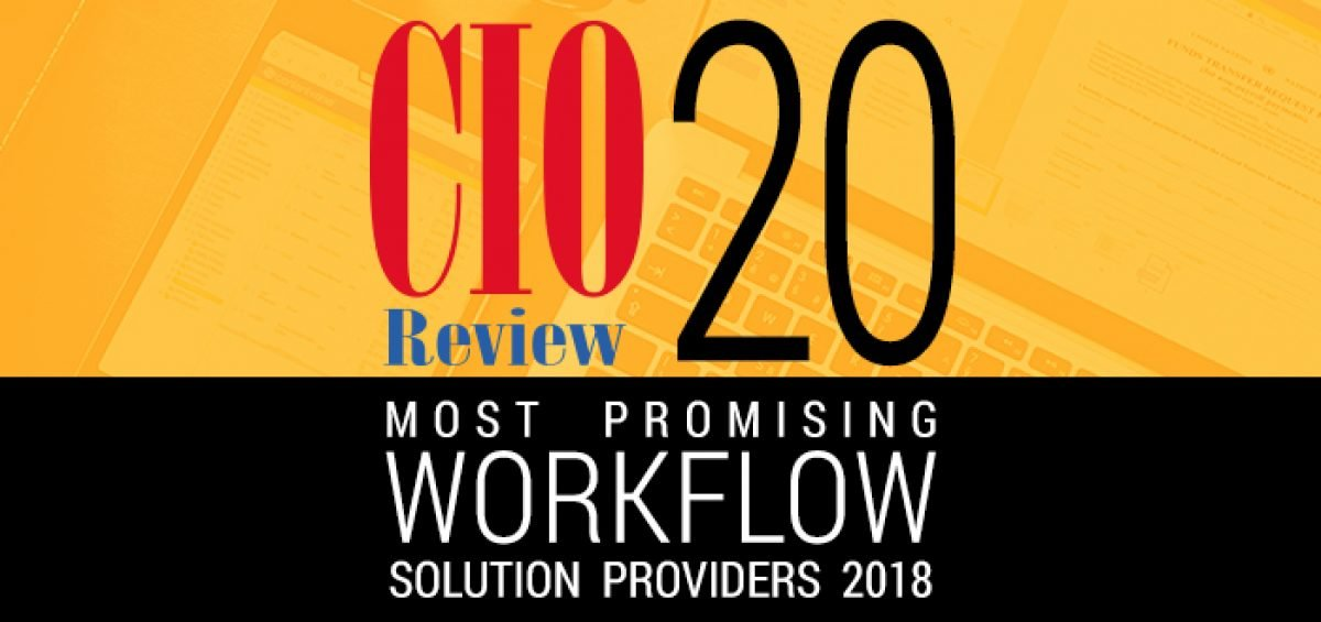 Computhink Named Among CIO Review's 20 Most Promising Workflow Solution Providers 2018