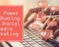 The Power of Sharing for Social Media Marketing